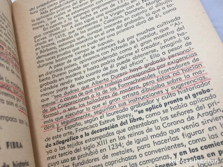 Libros antiguos: Técnicas del grabado artístico Tomás Gutiérrez Larraya 1944 buril Manuales Molina Buenos Aires - Foto 10 - 173821089
