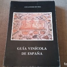 Libri antichi: MAPA VINICOLA DE ESPAÑA. Lote 173849403