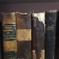 Libros antiguos: DICCIONARIO DE ANTIGÜEDADES DEL REINO DE NAVARRA. JOSÉ YANGUAS Y MIRANDA, 1840 3 TOMOS MÁS 1 ADICION. Lote 173883170
