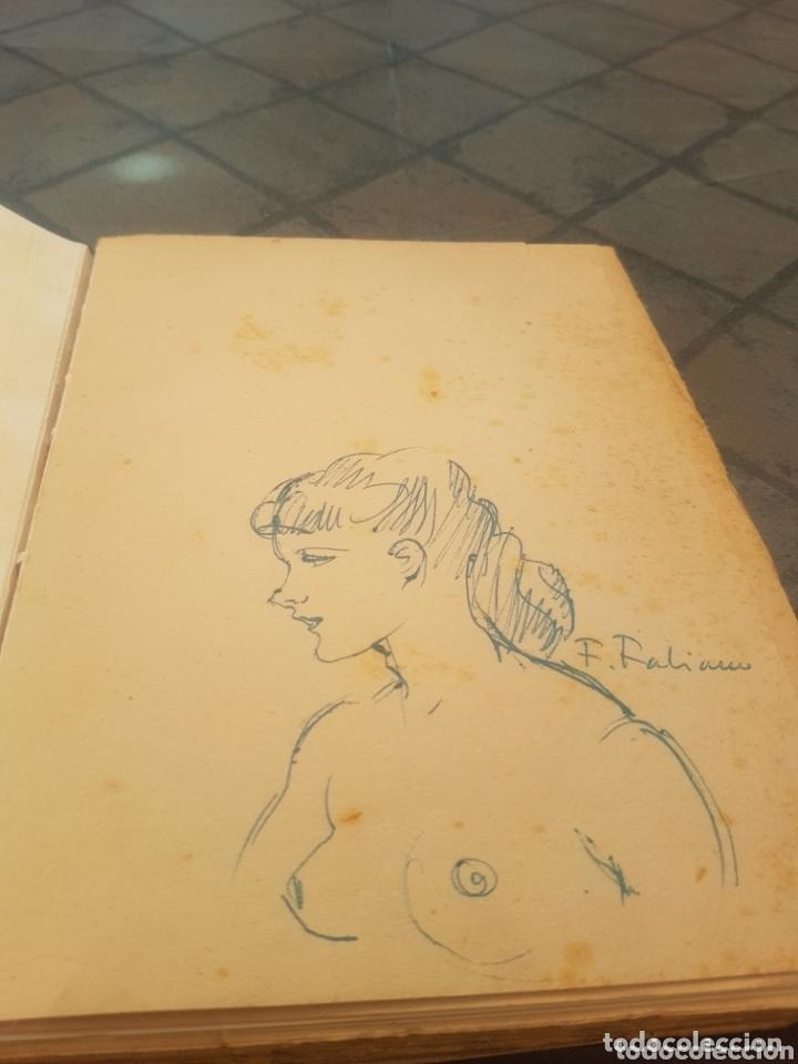 Libros antiguos: Fabiano Mes Modeles - vitiano Paris con dibujo autor - Foto 2 - 173912393