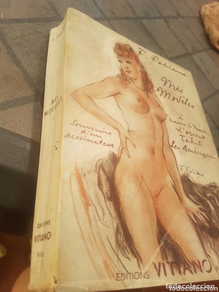 FABIANO MES MODELES - VITIANO PARIS CON DIBUJO AUTOR (Libros Antiguos, Raros y Curiosos - Otros Idiomas)