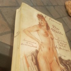 Libros antiguos: FABIANO MES MODELES - VITIANO PARIS CON DIBUJO AUTOR. Lote 173912393