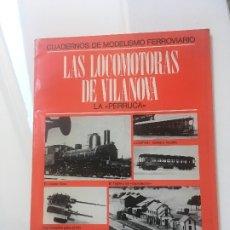 Libros antiguos: CUADERNOS MODELISMO FERROVIARIO. Lote 173933920