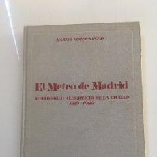 Libros antiguos: EL METRO DE MADRID 1969. Lote 173955278