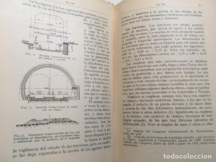 Libros antiguos: Explotacion tecnica de ferrocarriles. Fco.Wais 1933 - Foto 3 - 173961337
