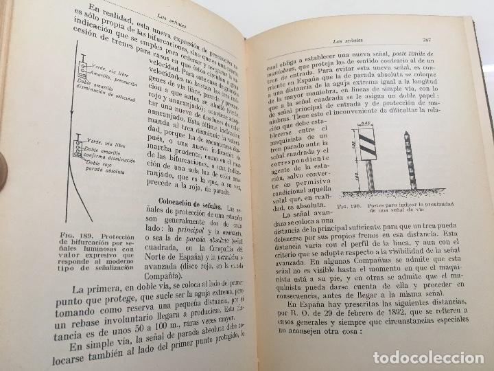 Libros antiguos: Explotacion tecnica de ferrocarriles. Fco.Wais 1933 - Foto 5 - 173961337