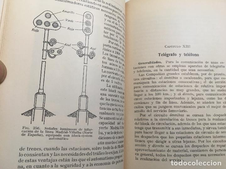 Libros antiguos: Explotacion tecnica de ferrocarriles. Fco.Wais 1933 - Foto 6 - 173961337