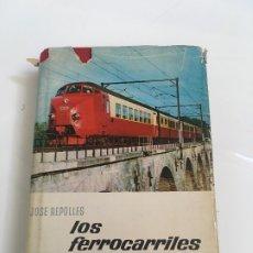 Libros antiguos: LOS FERROCARRILES . Lote 173962133