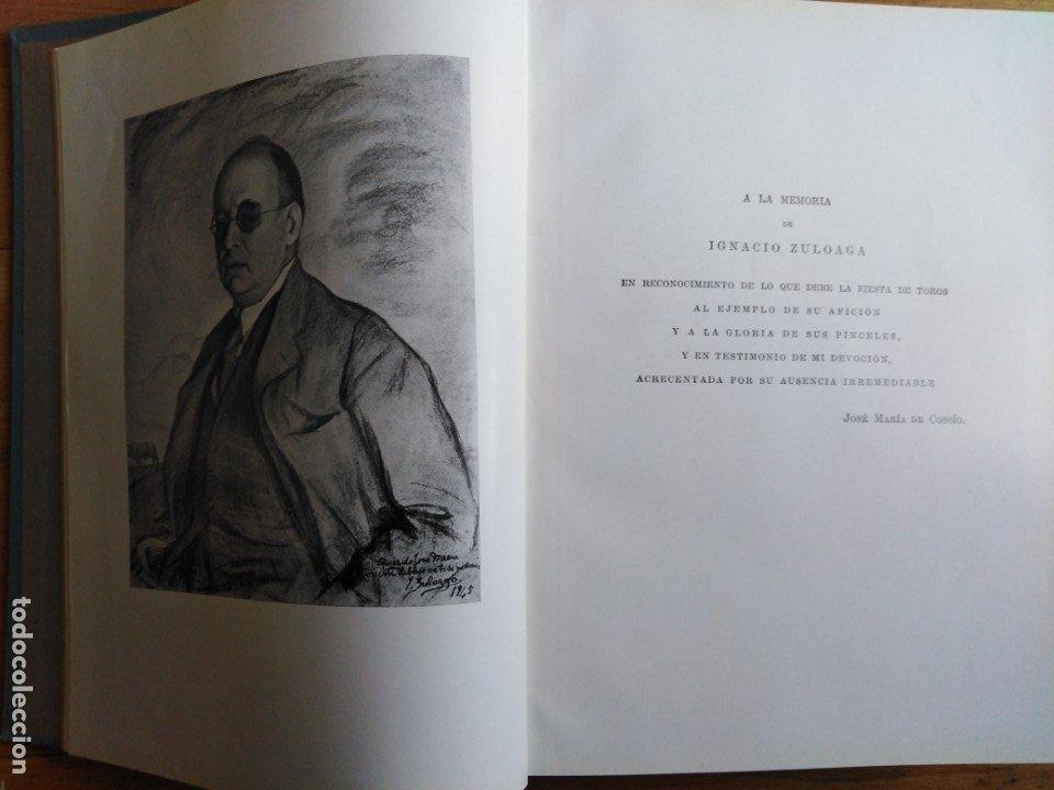 Libros antiguos: Los Toros tratado técnico e histórico Cossio - Foto 5 - 173981329