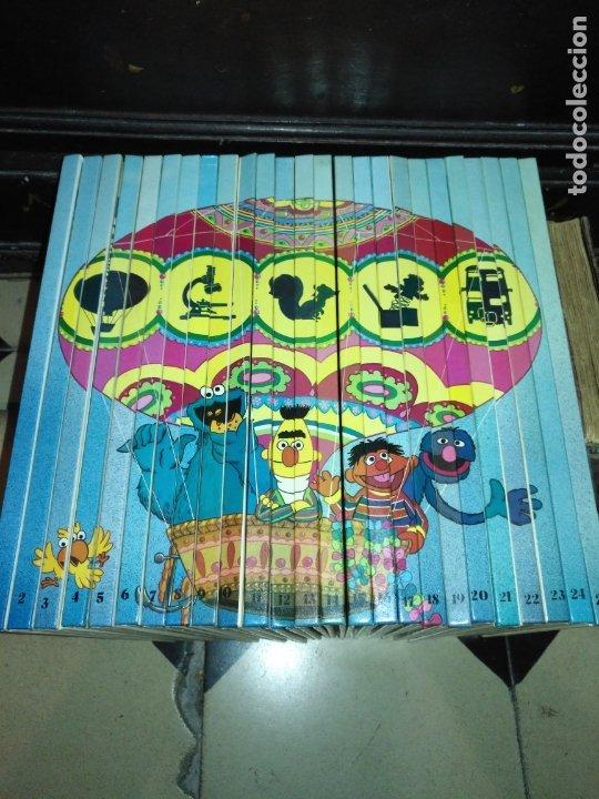 Libros antiguos: PREGUNTALE A SESAMO - COLECCIÓN COMPLETA 25 LIBROS muy buen estado ORBIS / MONTENA 1986 barrio - Foto 3 - 173994729