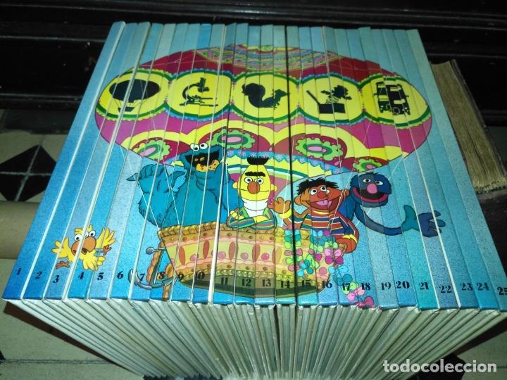 PREGUNTALE A SESAMO - COLECCIÓN COMPLETA 25 LIBROS MUY BUEN ESTADO ORBIS / MONTENA 1986 BARRIO (Libros Antiguos, Raros y Curiosos - Literatura Infantil y Juvenil - Otros)