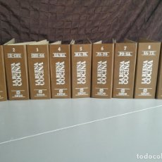 Libros antiguos: LA BUENA COCINA. FICHERO SARPE. 9 FICHEROS. MÁS DE 2000 RECETAS. 1981. Lote 174024857