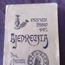 Livres anciens: PRIMER LIBRO DEL AJEDREZ. Lote 174027073