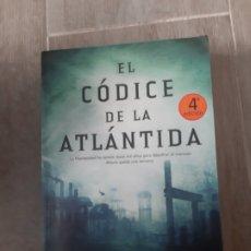 Libros antiguos: EL CÓDICE DE LA ATLANTIDA DE STEL PAVLOU. Lote 174096285