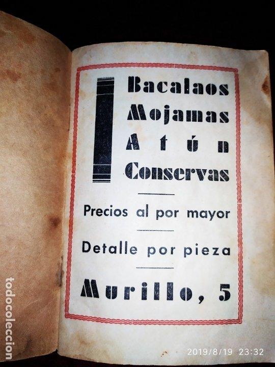 Libros antiguos: ANTIGUO LIBRO RECETAS BACALAO RIDAURA SALAZONES DELEGACION DEL CONSORCIO NACIONAL ALMADRABERO 1934 - Foto 6 - 174106393