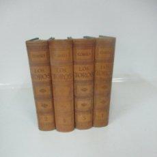 Libros antiguos: LOS TOROS - TRATADO TÉCNICO E HISTÓRICO - IV TOMOS - JOSÉ Mª DE COSSÍO - ESPASA CALPE - 1951. Lote 174114578