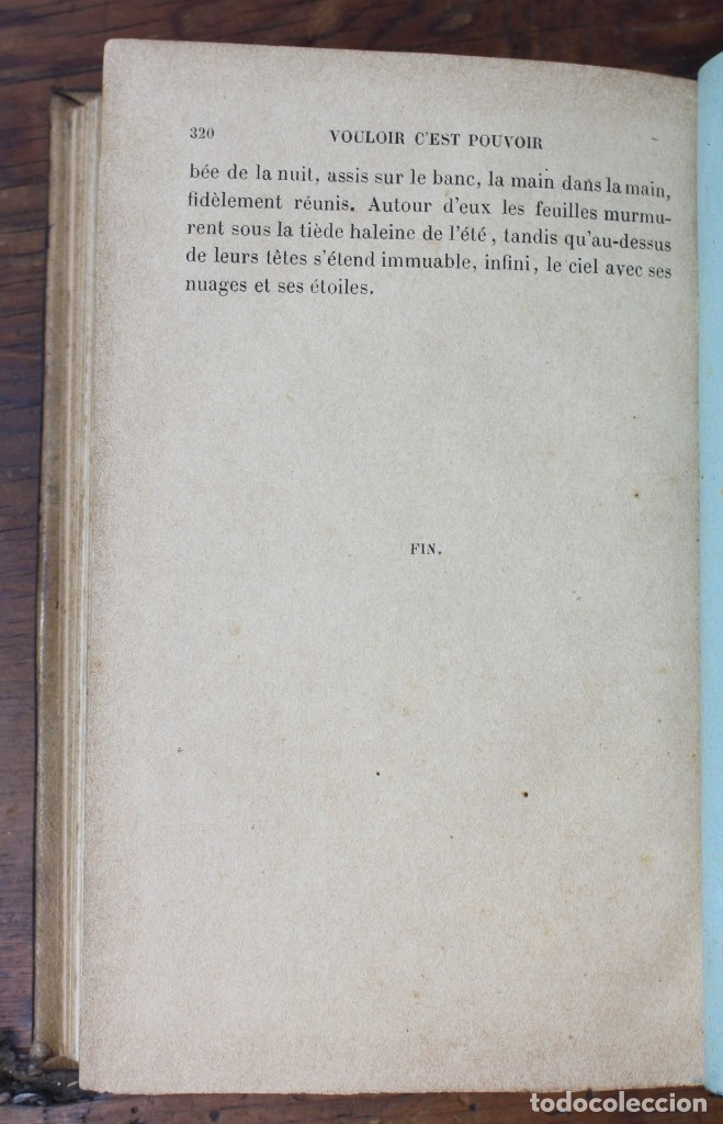 Libros antiguos: VOULOIR, C'EST POUVOIR- ELLY REUSS- TOME SECOND-PARIS-1891 - Foto 7 - 174156007