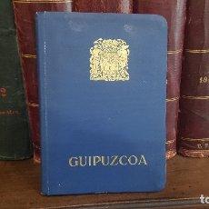 Libros antiguos: GUÍA DE GUIPÚZCOA 1930 - TAMAÑO 8º. 255 PÁGINAS, CON FOTOGRAFÍAS Y MAPAS. SAN SEBASTIÁN 1930. EXC.. Lote 174185214