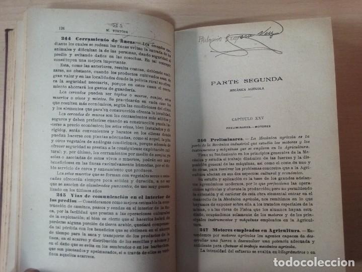 Libros antiguos: NOCIONES DE AGRICULTURA Y TÉCNICA AGRÍCOLA (1922) - DOCTOR MARIANO TORTOSA Y PICÓN - Foto 15 - 174233785