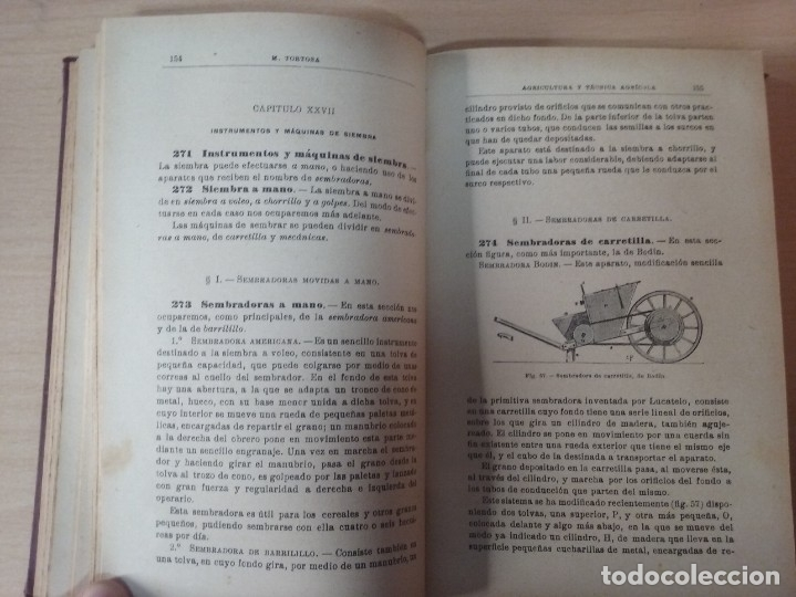 Libros antiguos: NOCIONES DE AGRICULTURA Y TÉCNICA AGRÍCOLA (1922) - DOCTOR MARIANO TORTOSA Y PICÓN - Foto 16 - 174233785