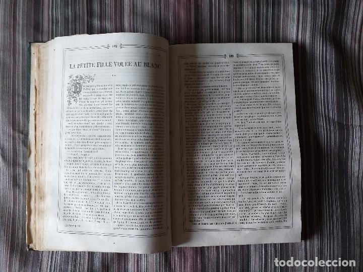 Libros antiguos: REVISTA JOURNAL DES ENFANTS 1842-43 ENCUADERNADO GRABADOS - Foto 7 - 174251854