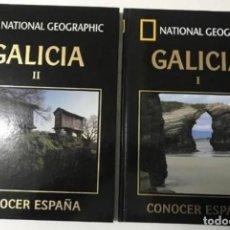 Libros antiguos: NATIONAL GEOGRAPHIC. GALICIA I, II. CONOCER ESPAÑA. Lote 174271258