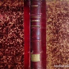 Libros antiguos: BERTHELOT, MARCELLIN P. E. LES ORIGINES DE L'ALCHIMIE. PARIS, 1855. DOS PLANCHAS LITOGRAFIADAS.. Lote 174294377