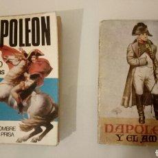 Libros antiguos: NAPOLEON Y EL AMOR,NAPOLEON EN 25000 PALABRAS,EDITORIAL BRUGUERA,MINI LIBROS,ENCICLOPEDIA PULGA.. Lote 174318972