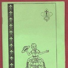 Libros antiguos: EL ESCULTISMO EN IMÁGENES SCOUTS DE ESPAÑA ZONA XV VALENCIA,. Lote 174367528