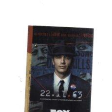 Livres anciens: STEPHEN KING 22-11-63 FOX CUANDO LUCHAS CONTRA EL PASADO,EL PASADO SE DEFIENDE. Lote 174370543