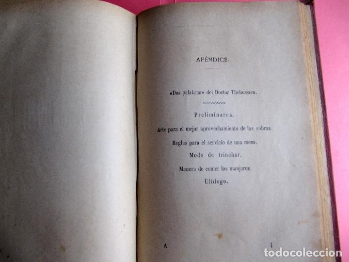 Libros antiguos: EL PRACTICÓN. TRATADO COMPLETO DE COCINA AL ALCANCE DE TODOS. POR ÁNGEL MURO. MADRID, 1902. - Foto 11 - 174400565