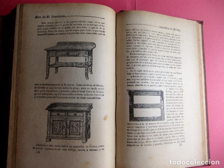 Libros antiguos: EL PRACTICÓN. TRATADO COMPLETO DE COCINA AL ALCANCE DE TODOS. POR ÁNGEL MURO. MADRID, 1902. - Foto 13 - 174400565