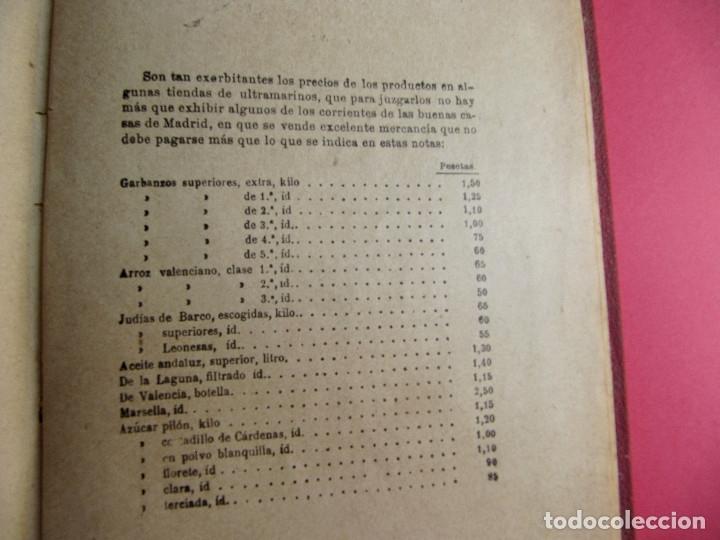 Libros antiguos: EL PRACTICÓN. TRATADO COMPLETO DE COCINA AL ALCANCE DE TODOS. POR ÁNGEL MURO. MADRID, 1902. - Foto 16 - 174400565