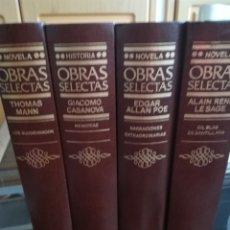Libros antiguos: COLECCIÓN 4 OBRAS SELECTAS. Lote 174456120