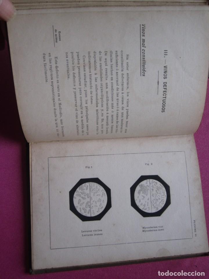 Libros antiguos: TRATADO DE ENOLOGIA PRACTICA VITICULTURA A.HUBERT AÑO 1908. - Foto 7 - 174462923