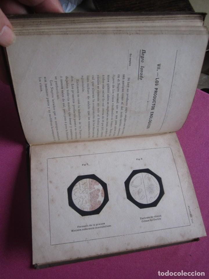 Libros antiguos: TRATADO DE ENOLOGIA PRACTICA VITICULTURA A.HUBERT AÑO 1908. - Foto 8 - 174462923