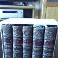 Libros antiguos: QUIJOTE EN FRANCÉS AÑO DE 1700, MULTITUD DE PRECIOSOS GRABADOS EN CADA TOMO.. Lote 174463858