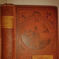 Libros antiguos: THE CORAL ISLAND A TALE OF THE PACIFIC OCEAN 1897 R. M. BALLANTYNE'S NEW EDITION NELSON AND SONS. Lote 174480660