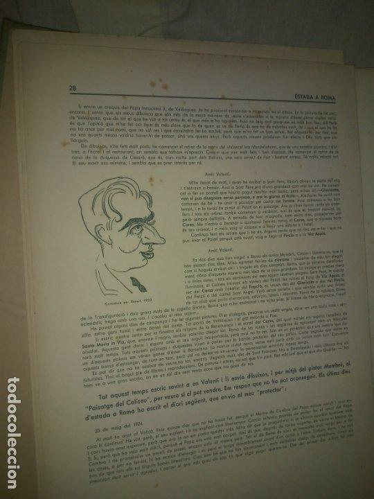 Libros antiguos: CALLICO CARPETA EDICIO NUMERADA ESCOLES OFICIALS - AÑO 1935 - EXCEPCIONAL. - Foto 5 - 174511303