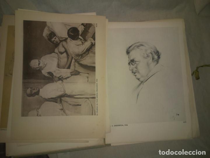 Libros antiguos: CALLICO CARPETA EDICIO NUMERADA ESCOLES OFICIALS - AÑO 1935 - EXCEPCIONAL. - Foto 7 - 174511303