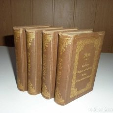 Libros antiguos: HENRIK IBSEN'S. JUEGO 4 LIBROS. COMPLETO.GESAMMELTE WERKE. VERLAG PHILIPP RECLAM . LEIPZIG 1887. Lote 174518738
