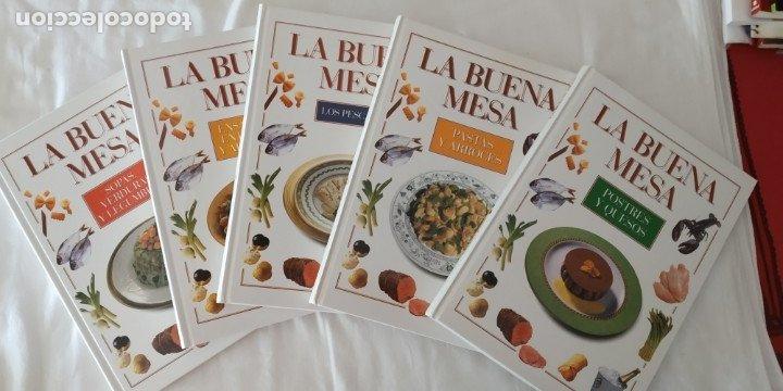 LA BUENA MESA-PLANETA DEAGOSTINI-5 TOMOS(NUEVOS) VER FOTOS Y TITULOS COCINA (Libros Antiguos, Raros y Curiosos - Cocina y Gastronomía)