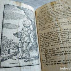 Libros antiguos: HISTORIA DE LA VIDA, HECHOS Y ASTUCIA SUTILISIMAS DEL RUSTICO BERTOLDO (1788) - DEFECTOS - GRABADOS. Lote 174583669