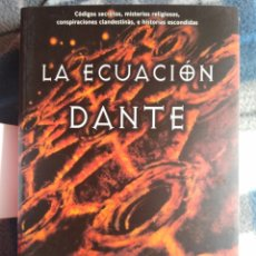 Libros antiguos: NOVELA - LA ECUACION DANTE - JANE JENSEN (441). Lote 174591072