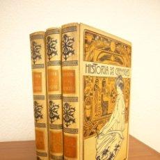 Libros antiguos: NICOLAY: HISTORIA DE LAS CREENCIAS, SUPERSTICIONES, USOS Y COSTUMBRES. 3 VOLS.(MONTANER Y SIMÓN). Lote 174603400