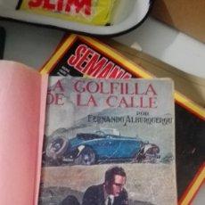 Libros antiguos: LA GOLFILLA DE LA CALLE. TRES TOMOS COMPLETA (FERNANDO ALBURQUERQUE) CASTRO. Lote 174887680