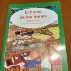 Libros antiguos: EL HUMO DE LOS TRENES . Lote 174960279