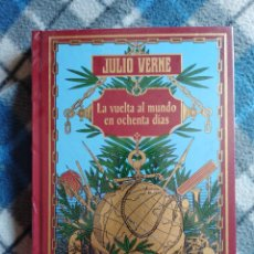 Libros antiguos: NOVELA - LA VUELTA AL MUNDO EN OCHENTA DÍAS - JULIO VERNE - (440). Lote 174963619