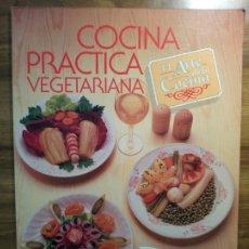 Libros antiguos: COCINA PRÁCTICA VEGETARIANA - BURDALO, SOLEDAD. Lote 174995240
