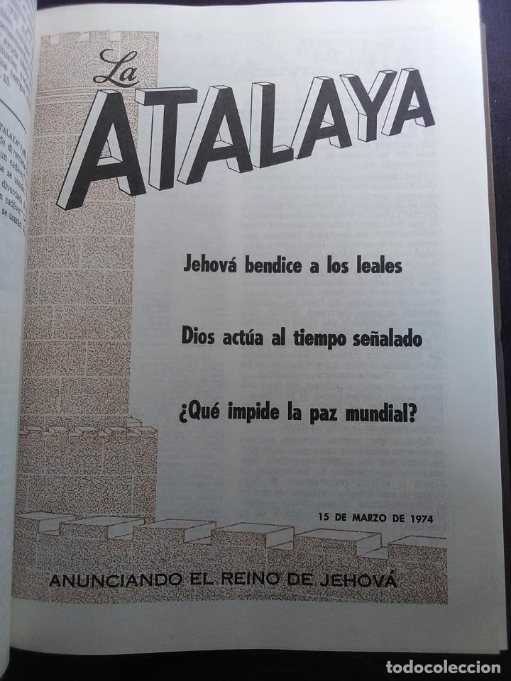 Libros antiguos: La Atalaya 1974 anuario. - Foto 3 - 175003605